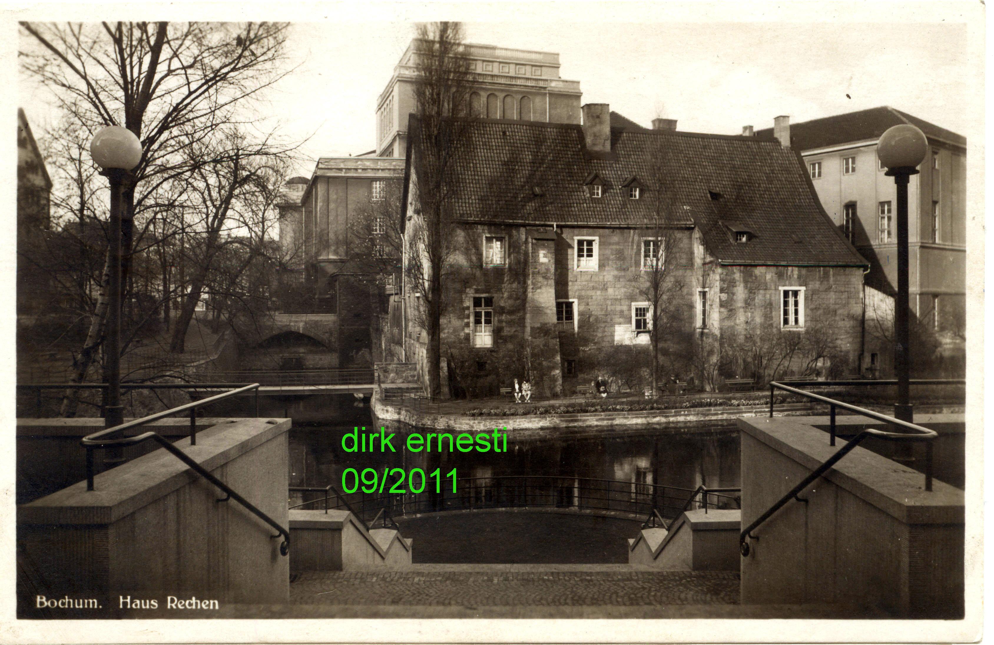 Häuser Bau Bochum historisches bochumer ehrenfeld bildergalerie stadttheater