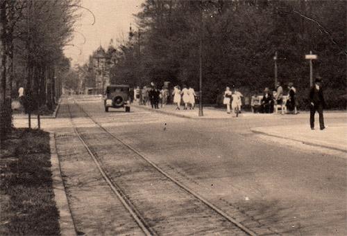 Historisches Bochumer Ehrenfeld  Bilderserie Königsallee