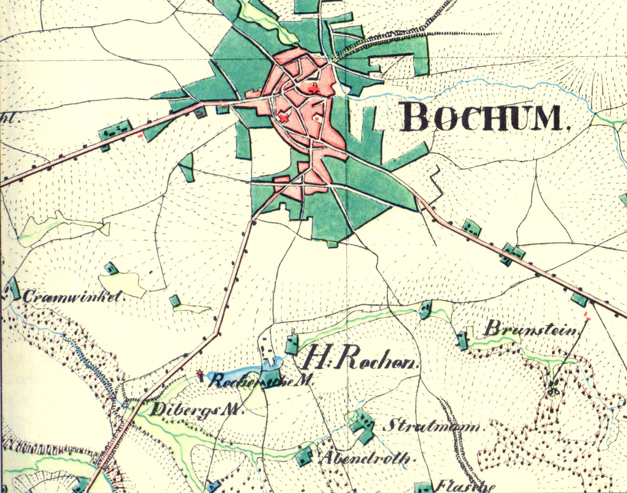 Bochum Karte.Historisches Bochumer Ehrenfeld Bilderserie Papiersachen Mit Bezug